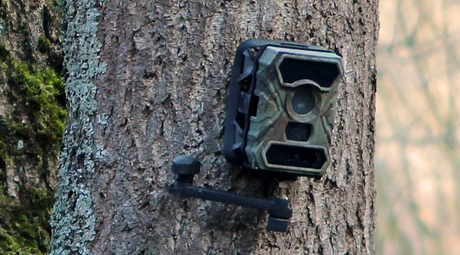 best way to secure a trail camera
