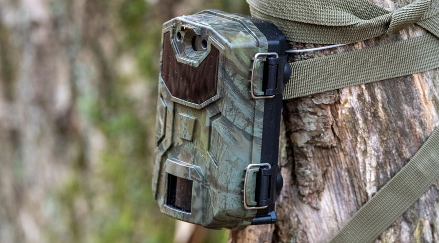 how to secure trail camera on public land