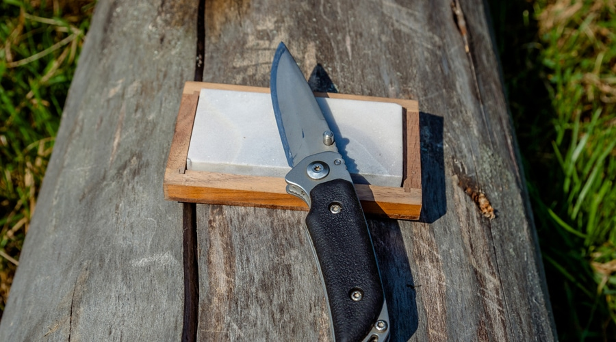 how to sharpen a buck hunting knife