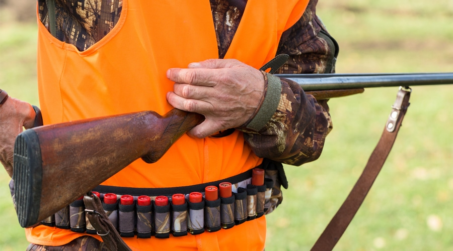 why should hunters wear fluorescent hunter orange clothing